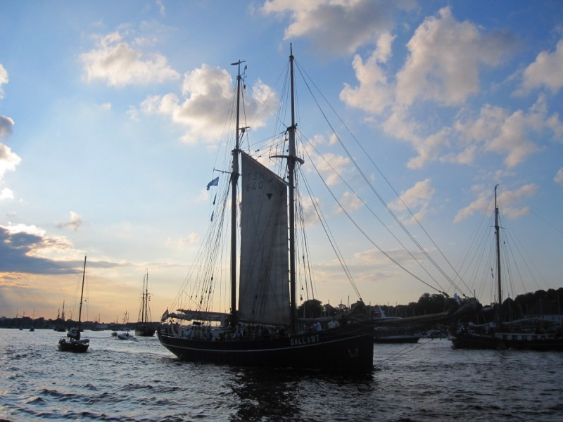 Sailing Ship on the Hanse Sail 2011