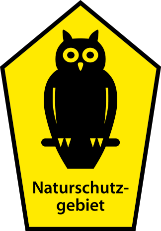 sign for natural monuments in Germany