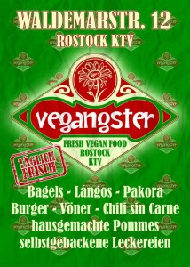 Flyer of the Vegangster