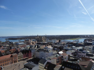 View from the Cathedral of Schwerin